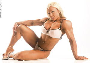 Sexiest muscular female legs nude