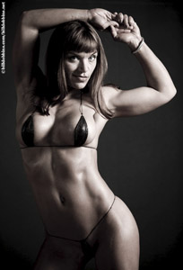 Tina Jo Orban, Bill Dobbins photo, women's bodybuilding, sexy female muscle, fitness, figure